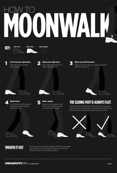 How To Moonwalk In 5 Easy Steps | Co.Design | business + innovation + design