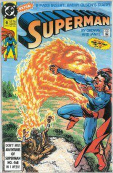 Superman Comic - # 45 July 1990: Jerry ; Janke, Dennis ( DC Comics ) Ordway…