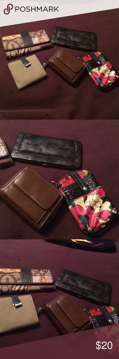 Set of 5 wallets Sakroots American eagle Many more Being offered is the set of 5 listed smoke free home I do bundle and take reasonable The Sak Bags Clutches & Wristlets