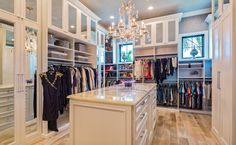 Organization Made Easy & Beautiful | Florida Home Magazine Closet Designs, Marble Countertops, House And Home Magazine, Charleston Homes, Walk In Closet, Closet Space, Home Entertainment Centers, Home Design Magazines, Master Bedroom Closet