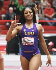 Beautiful Ballers - Source by Pretty Black Girls, Beautiful Black Women, Amazing Women, Fit Black Women, Fit Women, Lsu Track And Field, Track Team, Poses, Beautiful Athletes