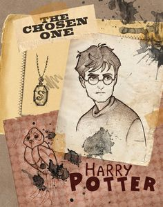 Harry Potter Character Poster