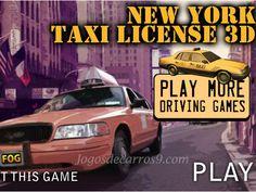 New York Taxi License 3D Jogo gratis, jogos de carros - New York Taxi License 3D é aqui! Se você amou a versão 2D, então você realmente está em um para tratar, com todos os novos níveis, gráficos e jogo de jogo. Ganhar a sua licença, realmente nunca foi tão divertido. você pode completar todos os 18 níveis, em estradas geladas, parando no sinal vermelho, levando os turistas em torno dos locais. Mesmo dirigindo para trás em uma estrada obstáculo cheio?