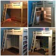 Loft Bed--Bean and Bebe Dos need this! @Priscilla Ellis