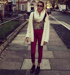 Leopard and pink  #ootd
