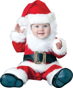 9a7152188 Santa Baby Infant/Toddler Costume - Your little one will look like a  precious little