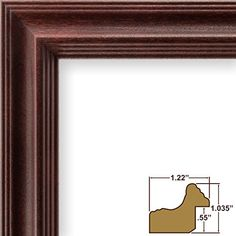 Craig Frames 229POPCH 24 by 36Inch Picture Frame Wood Grain Finish 122Inch Wide Cherry Red ** Check out this great product.Note:It is affiliate link to Amazon.