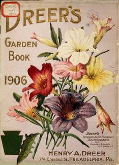 Dreer's garden book / Henry A. Dreer :: Nursery and Seed Catalogs