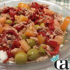Hoy para comer @DrLove me ha preprado una ensaladita! #ArnyDeliciosos #DrLove