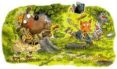 Mauri Kunnas - Aarresaari - Kirjat - Savon Sanomat Party Themes, Party Ideas, Children's Book Illustration, Childrens Books, Classic Style, Fairy Tales, Author, Comics, Painting