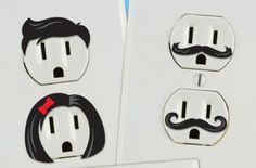 Socket stickers. KT Says: Hahahaha! Funny :)