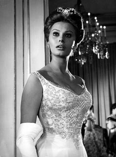 Pinterest: geminoir  | Sophia Loren