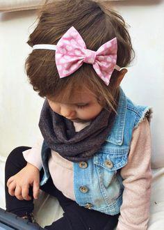 Valentines Heart bow by turbansfortots on Etsy https://www.etsy.com/listing/217872411/valentines-heart-bow