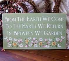 This can be my marker when the time comes, when my ashes are scattered under a rose. Simpler design, though, please.     [tuinkreten - tuinbord - garden signs]