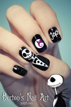 Halloween Nail Art - Halloween is my favorite holiday I love all the creative things you can do and nail art is no exception! Nail Art Halloween, Halloween Nail Designs, Halloween Jack, Easy Halloween, Halloween 2013, Halloween Kunst, Homemade Halloween, Halloween Movies, Halloween Jewelry