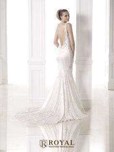 板橋蘿亞手工婚紗 Royal handmade wedding dress 婚紗攝影 購買婚紗 單租婚紗 西班牙Atelier Pronovias CHANTAL