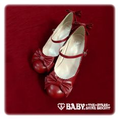 Baby, the stars shine bright Antique ribbon shoes