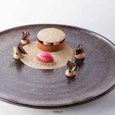 A well composed dessert means not having a million things to look at. Its clear what the focal point of what this dish is. Chesnut tarte cherry sorbet photo @antoniofekete #pastryelite #salonrestaurant #foodknockout #foodphoto #foodshoot #chefstalk #pastrychefsofinstagram #pastrychef #sweetgourmet #pastryporn #foodporn #chefsroll #finedining #plateddessert #instasweet #instafood #foodie #gourmet @nagy_anna_pastry by pastryelite
