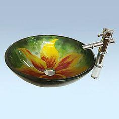 Crasto Contemporary Pattern Flower Bathroom Sink Set (Sin... https://www.amazon.com/dp/B01C3WT3RI/ref=cm_sw_r_pi_dp_x_LO6Eyb0HVS7J1
