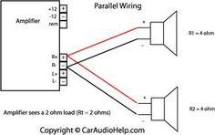 parallel speaker wiring car speaker box, speaker box design, subwoofer box  design, car
