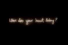 Visual-Poetry — »where does your heart belong« by michal...
