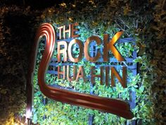 Feel welcomed, warm and elegant is the modern beach resort called: The Rock Hua Hin, located on a 3 hours' drive of Bangkok Beach Holiday, Beach Resorts, The Rock, Bangkok, Thailand, Neon Signs, Romantic, Warm, Elegant