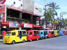 Patong, beach night life - tuk tuks charge just under US$7 for even short distance #patong #phuket