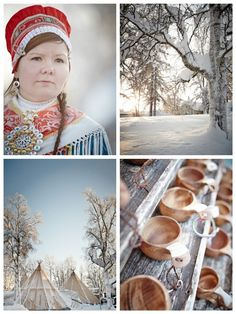"""The Sami People, """"The people of the sun and the wind"""", make up one of the world's least numerous native people. Around 70,000 individuals live in Sápmi land, in what is now part of Sweden, Norway, Finland and Russia. Nowadays, about 20,000 Sami live in Sweden"""