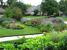 Texas Planting - She will tell you what to plant and where!  Lists of plants that are thrillers, fillers, and spillers.  Great site!