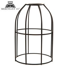 Black Cylinder Decorative Metal Lamp Shade