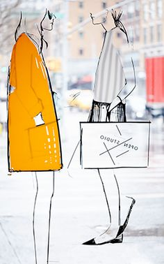 Paper Dolls: Garance Doré And Rifle Paper Co. Collaborate On A Line Of Très Chic Stationery
