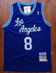 Men 8 Kobe Bryant Jersey Blue Christmas Los Angeles Lakers Swingman Jersey Nba Jersey Lakers Kobe Bryant Kobe Bryant