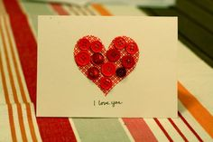 Cute and easy valentines day card :)