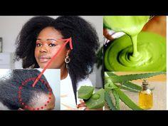 Afro Hair Growth, Extreme Hair Growth, Aloe Vera For Hair, Grow Long Hair, Hair Remedies, 5 Ways, Your Hair, Curly Hair Styles, Hair Care