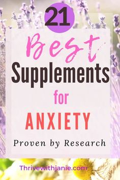 If you are looking for a natural way to calm and beat anxiety naturally, natural supplements are one of the best ways to control and overcome anxiety. Here are 21 of the best natural supplements for anxiety and that research supports their effectiveness. Natural Remedies For Anxiety, Natural Cough Remedies, Natural Cures, Holistic Remedies, Herbal Remedies, Natural Skin, Natural Health, Home Remedy For Cough, Cold Home Remedies