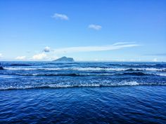 Wai Ao Beach in Yilan, Taiwan