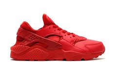 Though they would have been right at home as an Independence Day release, Nike Sportswear has crafted two patriotic, monochromatic editions of the tried-and-true Air Huarache. Marked by the use of pre...