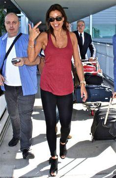 Melanie Sykes - 'I'm a Celebrity Get Me Out of Here' TV show arrivals, Brisbane International Airport, Australia - 10 Nov 2014