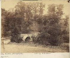Box Canvas Print (other products available) - Burnside bridge, across Antietam Creek, Maryland. Stone bridge over Antietam creek. Date 1862 September printed later, Date: - Image supplied by Mary Evans Prints Online - inch Box Canvas Print made in the UK Rare Photos, Old Photos, Chesapeake Bay Bridge, University Of Maryland, American Civil War, A0 Poster, Photo Mugs, Online Printing, Old Things