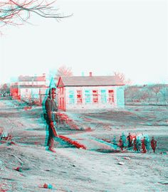 3D Civil War Photos