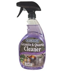 MARBLELIFE® Granite Countertop Cleaner Spray Bottle Granite And Quartz Are  Resilient, Beautiful Surfaces. Keeping Them Looking This Way Is Not  Difficult, ...
