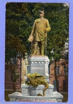 KÖNIGSBERG Pr.  Bismarck-Denkmal