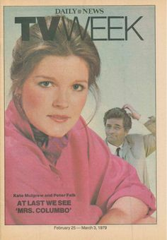 1979 www. Peter Falk, Kate Mulgrew, Star Trek Voyager, March 3rd, Daily News, Tv, Cover, Television Set, Television