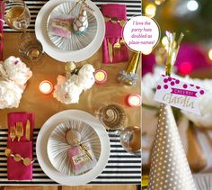 Tablescape 101: A Colourful New Year's Eve Bash | Bright.Bazaar | Mochatini | Fig. 2 Design