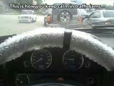 How Bubblewrap will keep you calm in a traffic jam.