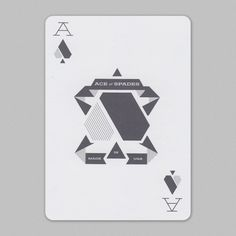 Fandangled Playing Cards #aceofspades