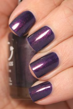 Rimmel's Night Before (by Grape Fizz Nails)