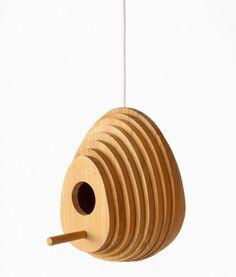 Tree Ring Birdhouse #birdhouse #design