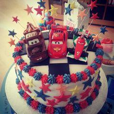 4th birthday Disney Cars Cake