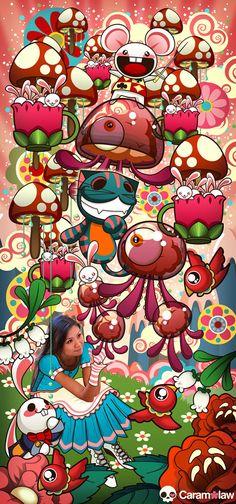Caramelaw, Caramelaw in Wonderland